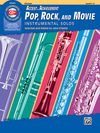 Accent on Achievement: Pop, Rock and Movie Instrumental Solos Thumbnail
