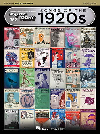 EZ Play Today Vol. 362 Songs of the 1920s
