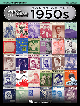 EZ Play Today Vol. 365 Songs of the 1950s