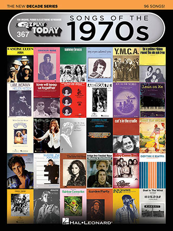 EZ Play Today Vol. 367 Songs of the 1970s