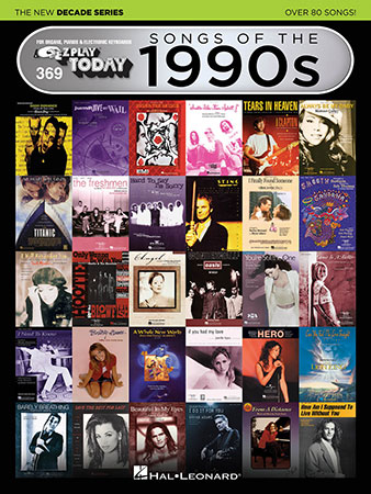 EZ Play Today Vol. 369 Songs of the 1990s