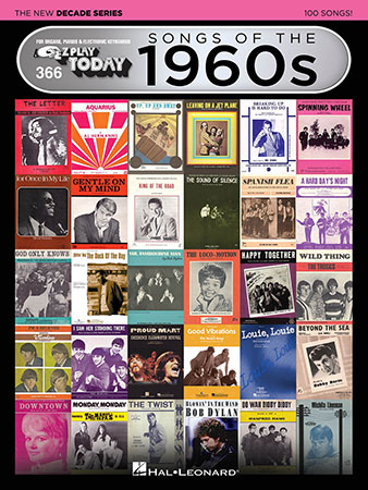 EZ Play Today Vol. 366 Songs of the 1960s