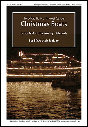 Christmas Boats (SSAA ) by Bronwyn Edwards| J W  Pepper