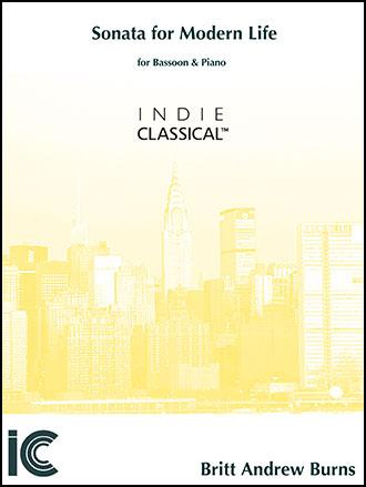 Sonata for Modern Life - for Bassoon & Piano