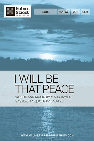 I Will Be That Peace
