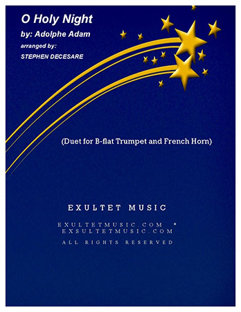 O Holy Night (Duet for Bb-Trumpet and French Horn)