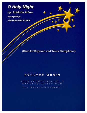 O Holy Night (Duet for Soprano and Tenor Saxophone)