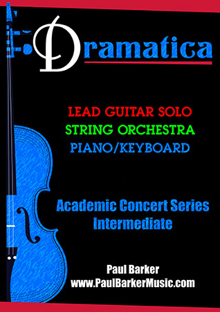 Dramatica for Lead Guitar and String Orchestra