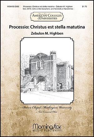 Processio : Christus est Stella Matutina