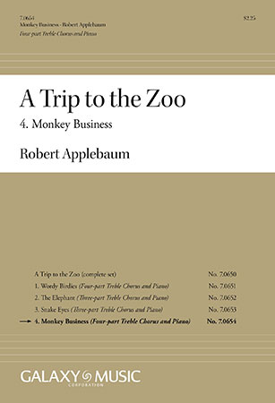 A Trip to the Zoo: 4. Monkey Business