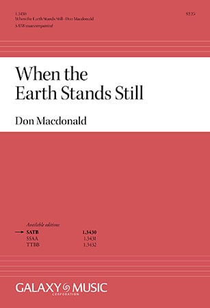 When the Earth Stands Still