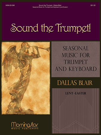 Sound the Trumpet brass sheet music cover