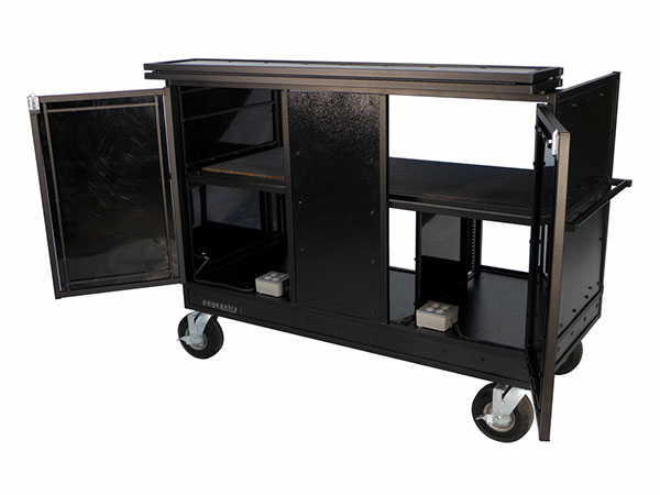 Seated Synth Mixer Combo Cart Cover