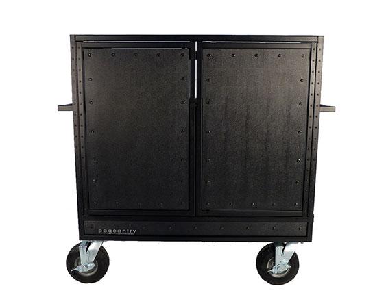 Double Mixer Carts Cover