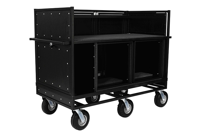 Extended Double Mixer Carts