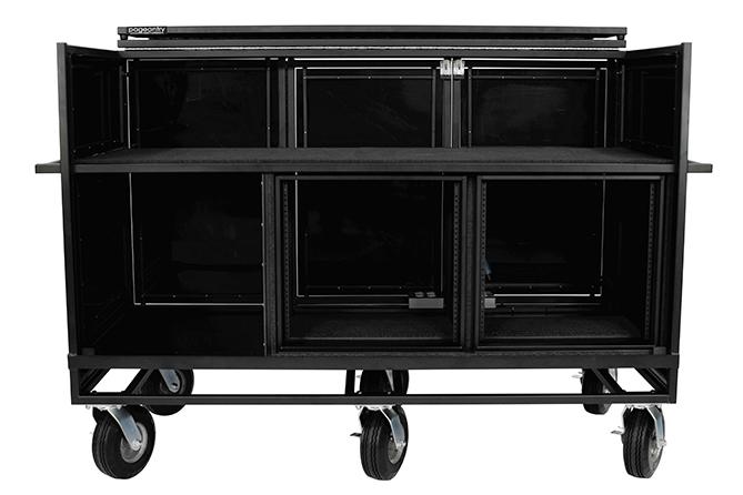 Triple Mixer Carts Cover
