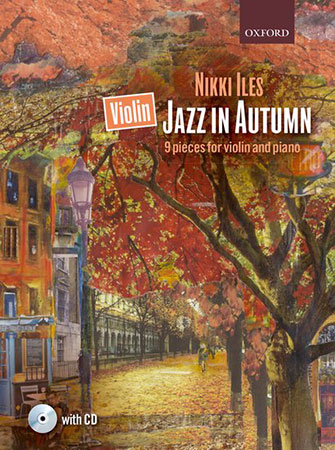 Violin Jazz in Autumn