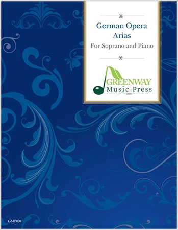 German Opera Arias library edition cover