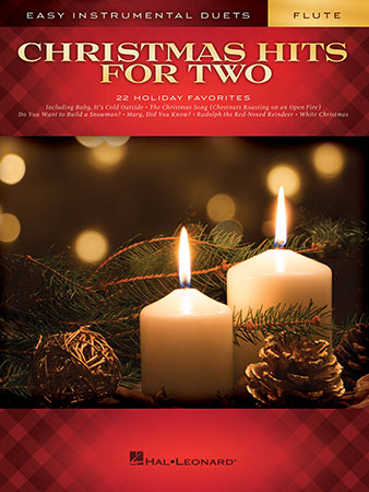 Christmas Hits for Two woodwind sheet music cover
