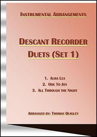 Descant Recorder Duets (Set 1)