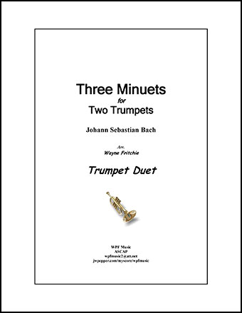 Three Minuets for Two Trumpets