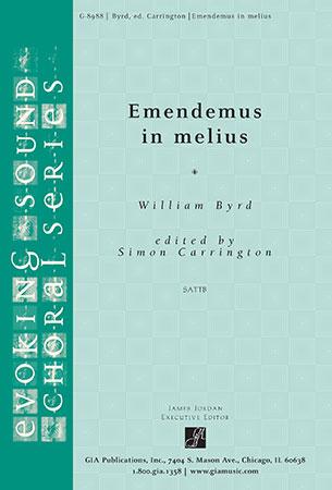 Emendemus in Melius