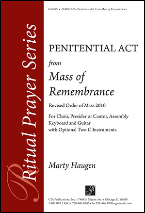 Penitential Act from Mass of Remembrance