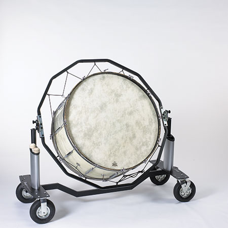 Bass Drum or Gong Cart