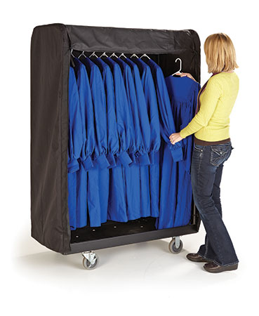 Rack and Roll Garment Cart