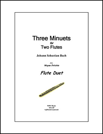 Three Minuets for Two Flutes