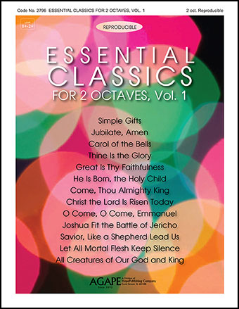 Essential Classics for 2 Octaves Vol. 1