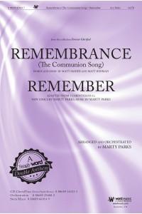 Remembrance Remember