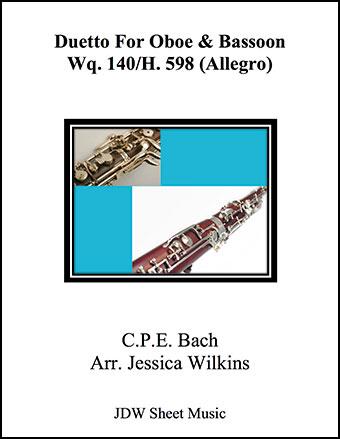 Duetto Wq. 140,