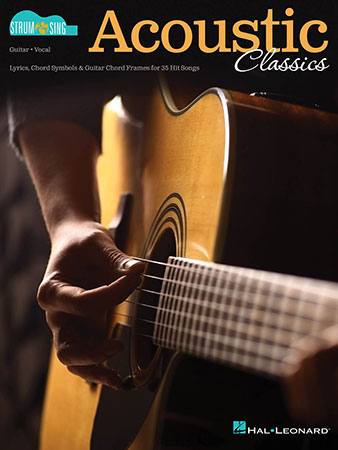 Acoustic Classics Strum and Sing Cover