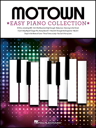 Motown Easy Piano Collection Cover