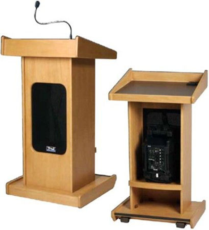 Admiral Lectern  with Liberty Platinum