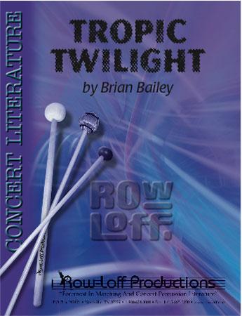 Tropic Twilight Percussion Ensemble 10 J W Pepper Sheet Music
