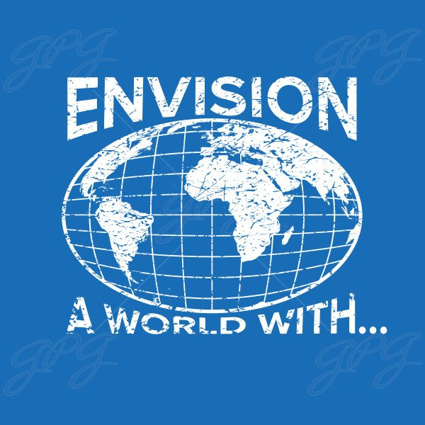 Envision a World With... marching band show cover