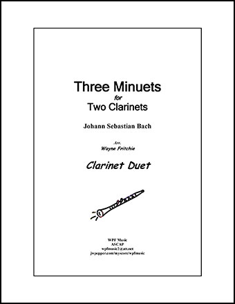 Three Minuets for Two Clarinets