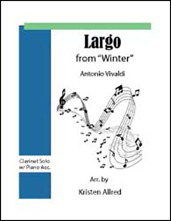 Largo from Winter (Clarinet and Piano)