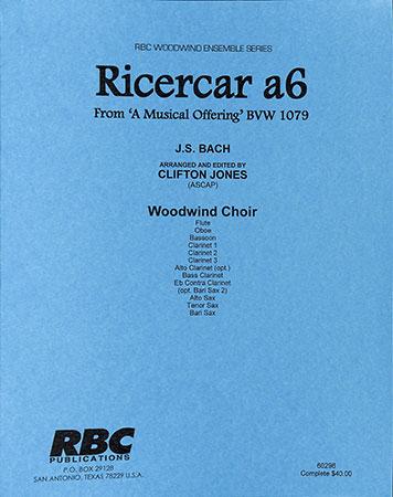 Ricercar a 6, BWV 1079