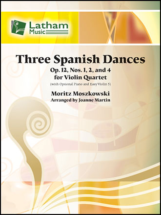 Three Spanish Dances, Op. 12, Nos. 1, 2 and 4
