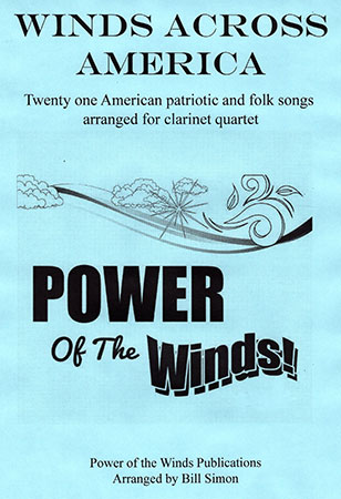 Winds Across America for Clarinet Quartet