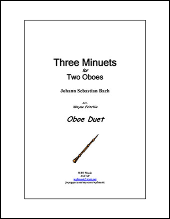 Three Minuets for Two Oboes