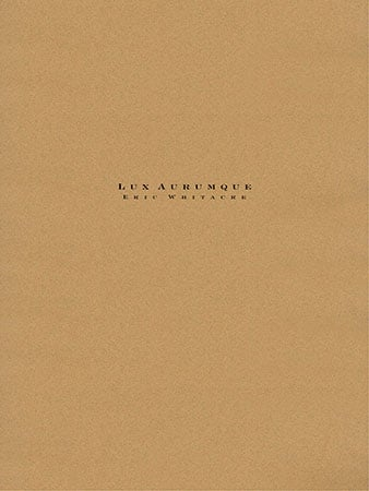 Lux Aurumque