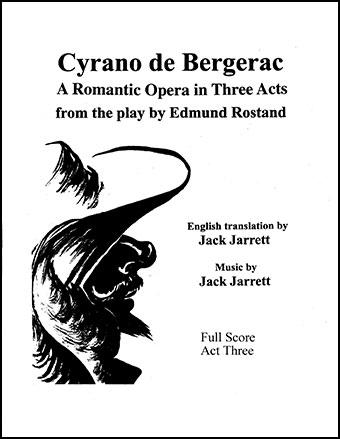 Cyrano de Bergerac Act Three - Score and Parts