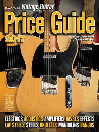 The Original Vintage Guitar Magazine Price Guide 2017