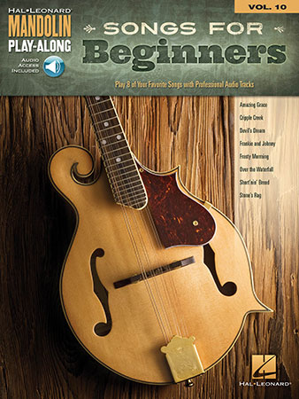 Mandolin Play Along Vol. 10 Songs for Beginners
