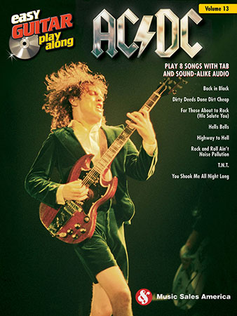 Easy Guitar Play-Along Vol. 13 - AC/DC