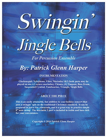 Swingin' Jingle Bells - for Percussion Ensemble